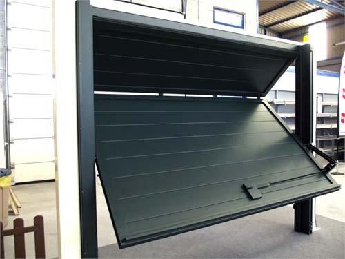 puerta de garaje de aluminio sabadell