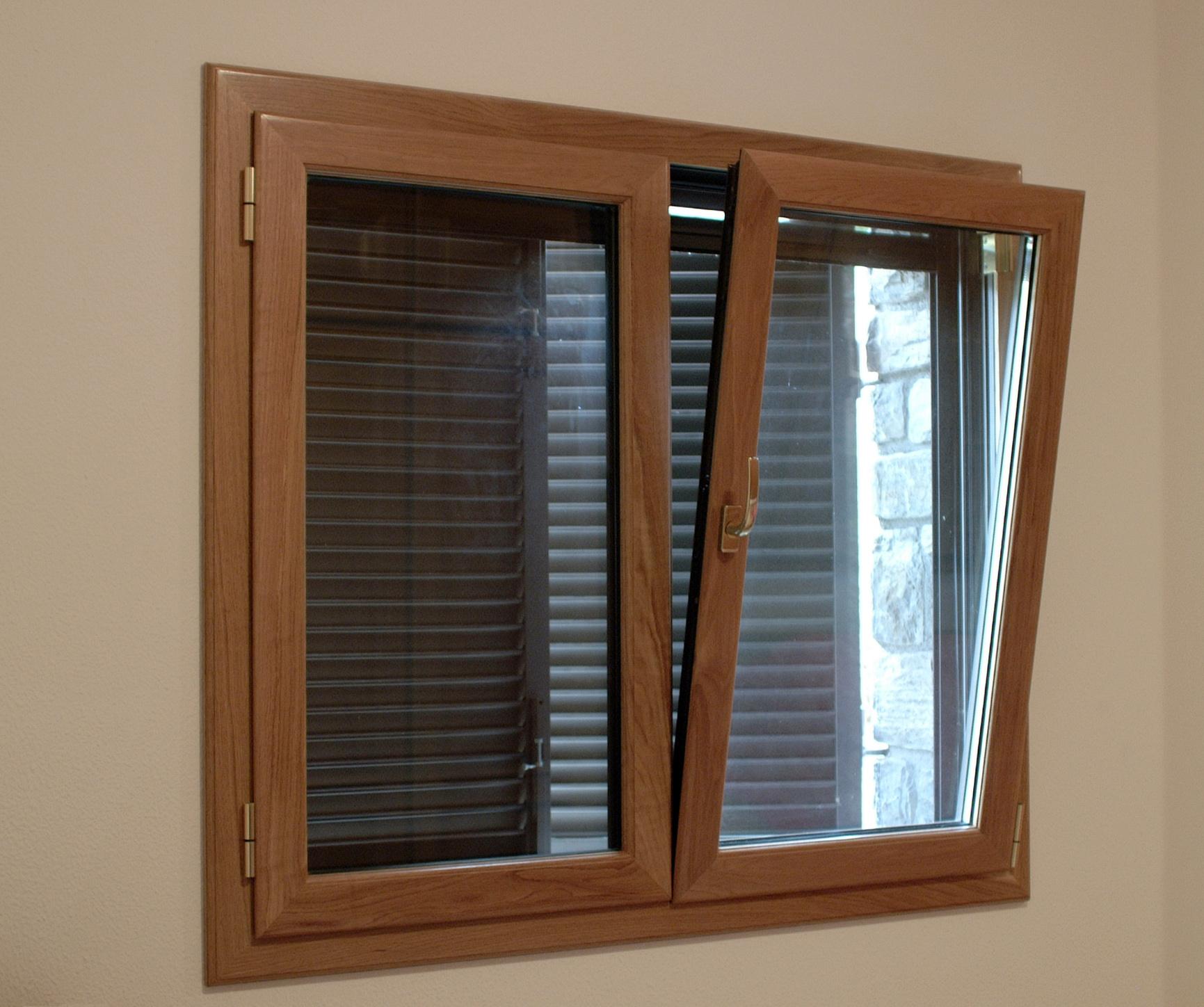 Ventanas de aluminio sabadell combinar aluminio y madera for Colores de aluminio para ventanas
