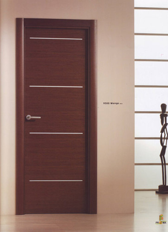 Aluminio puertas interiores y exteriores aluminis arrahona - Puertas de madera modernas para interiores ...